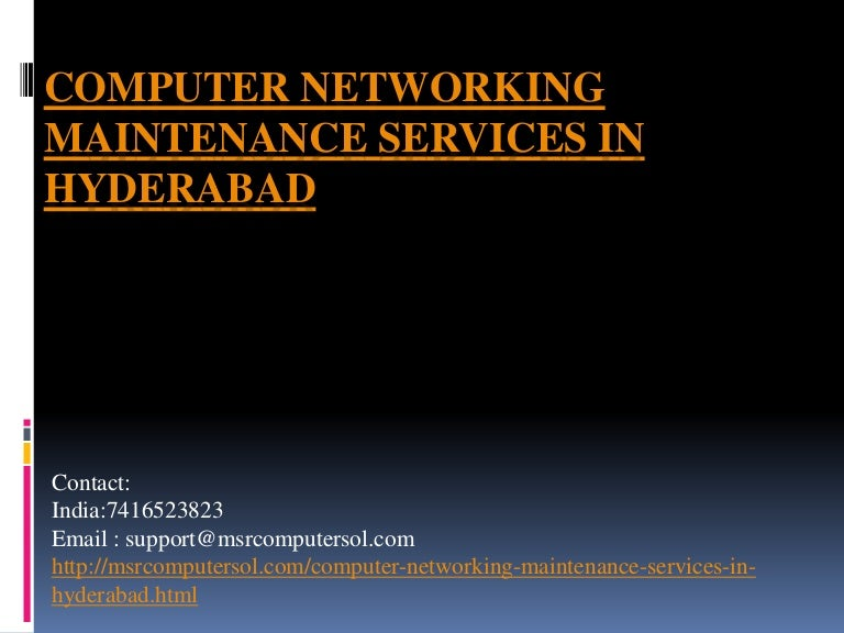 Network Security Companies in Hyderabad | Networking