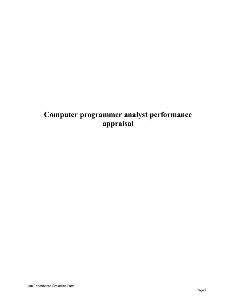 Computerprogrammeranalystperformanceappraisal 150525055232 Lva1 App6892 Thumbnail 4?cbu003d1432533244.  Programmer Job Description.