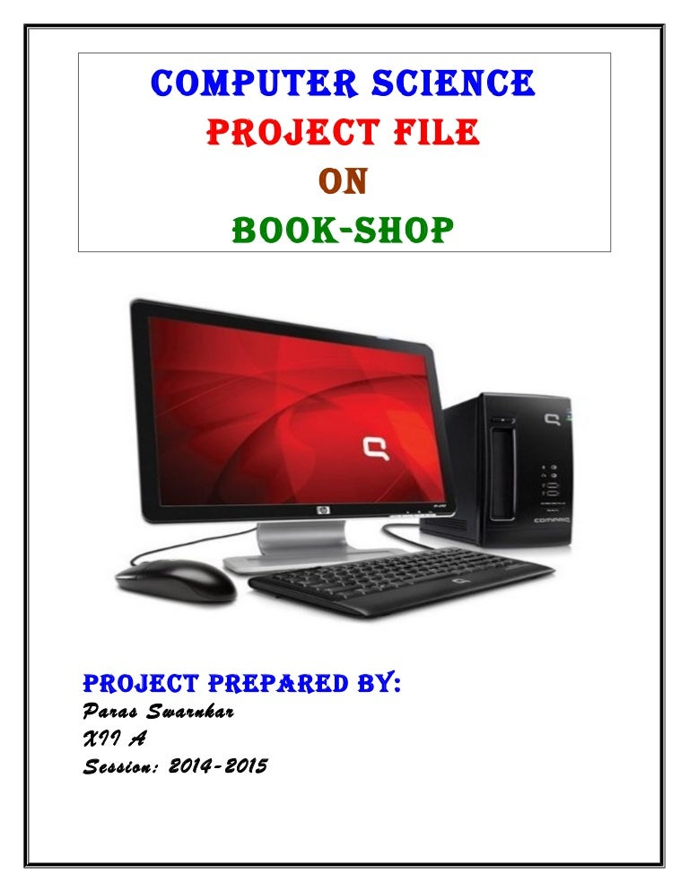 Cbse Computer Science Book