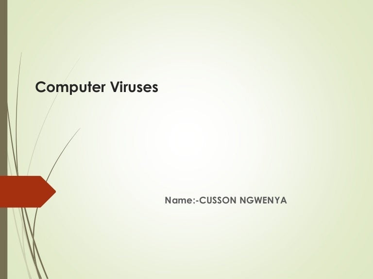 computer viruses essays Computer viruses this research paper computer viruses and other 64,000+ term papers, college essay examples and free essays are available now on reviewessayscom autor: review • february 8, 2011 • research paper • 1,183 words (5 pages) • 809 views.