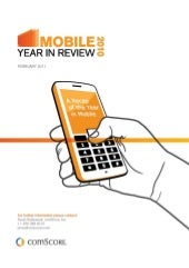 comScore 2010 mobile year in review 2010