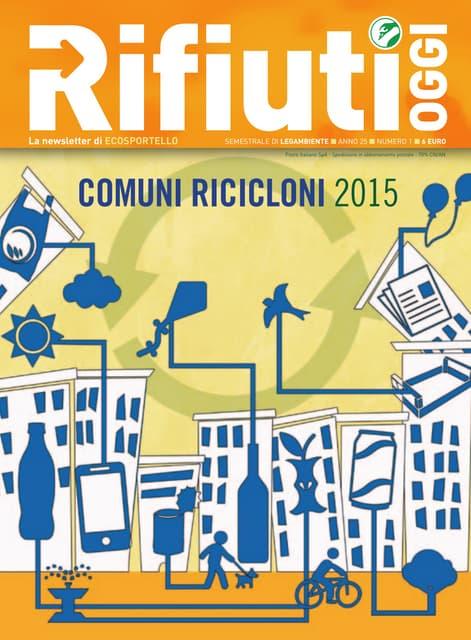 Dossier Comuni Ricicloni 2015