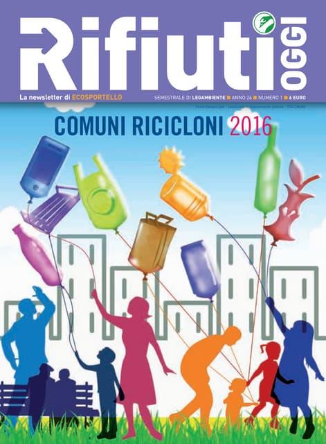 Dossier Comuni Ricicloni 2016