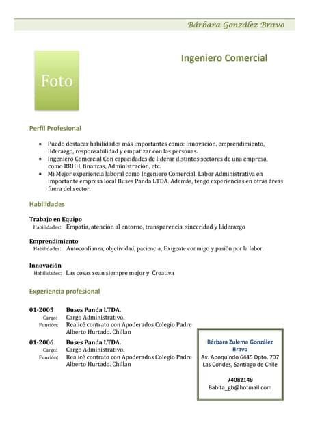 Comunicacion Curriculum Vitae