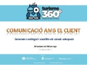 Comunicacions de Marketing - Turisme 360