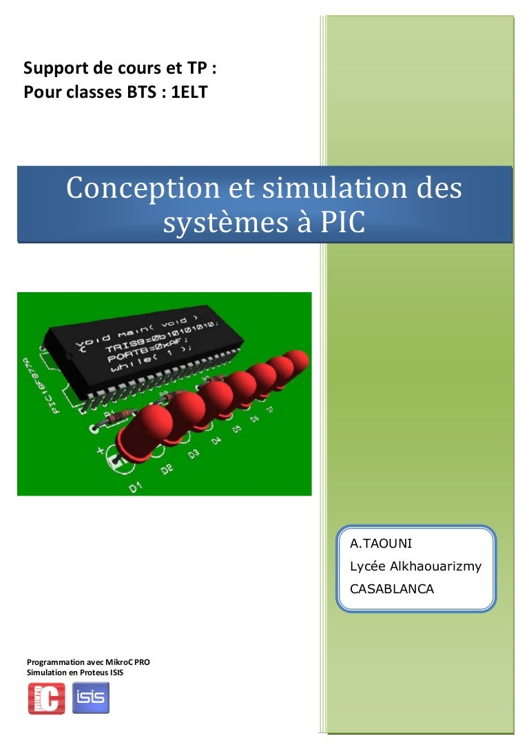 COURS MIKROC FOR PIC PDF