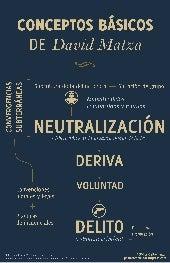Delincuencia y deriva de Davida Matza (Esquema teórico)