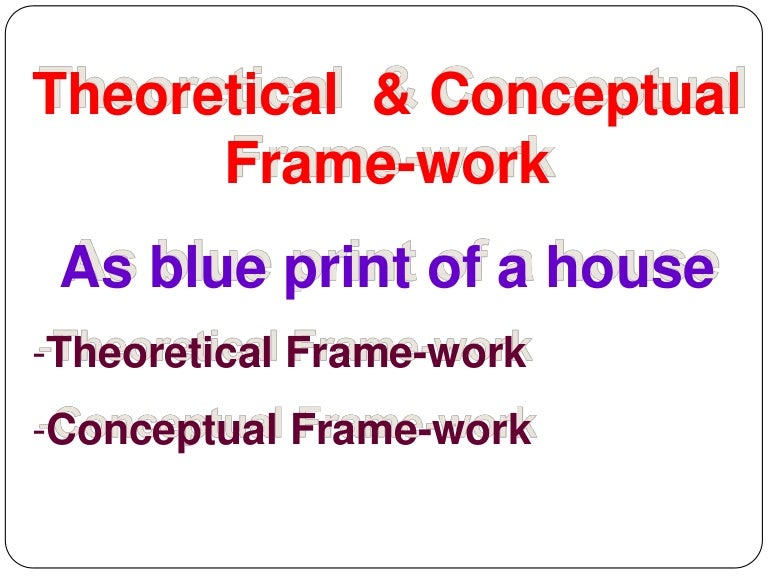 And Theoretical Framework