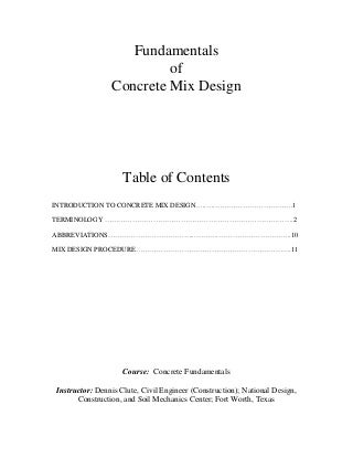 Estimation of Quantities and Concrete mix design, Could someone help me please...?