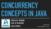 Concurrency Concepts in Java