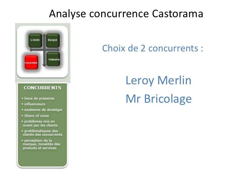 Concurrents Castorama