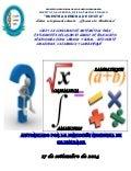 Concurso de matematica 2014