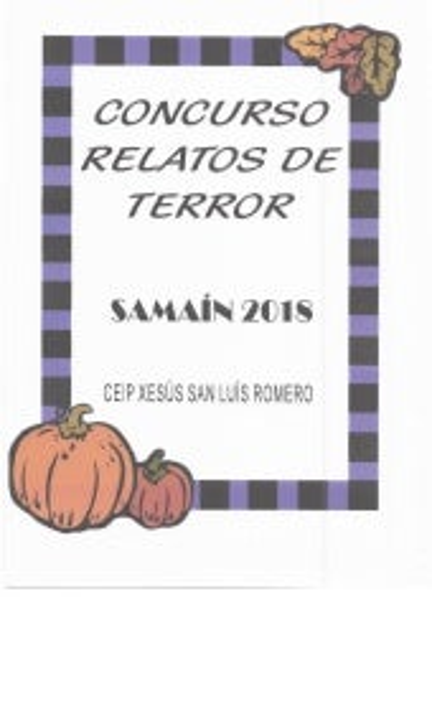 Concurso relatos de terror