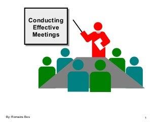 Effective Meetings | LinkedIn