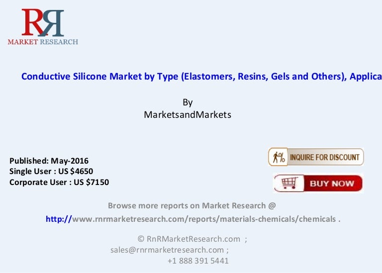 Conductive Silicone Market to Register 7 2% CAGR between