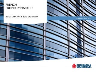 French Commercial Property Markets 2012