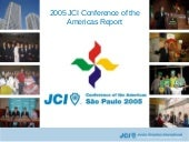 2005 JCI Conference of the Americas report