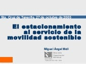 Conferencia tenerife Parking Policy