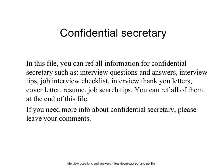 Letter Format : confidential letter format Confidential Letter ...
