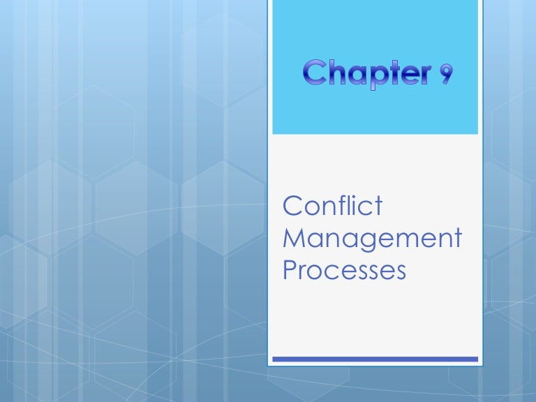 How to resolve workplace conflicts.
