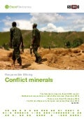 Conflict Minerals - Implications for the High Tech Industries