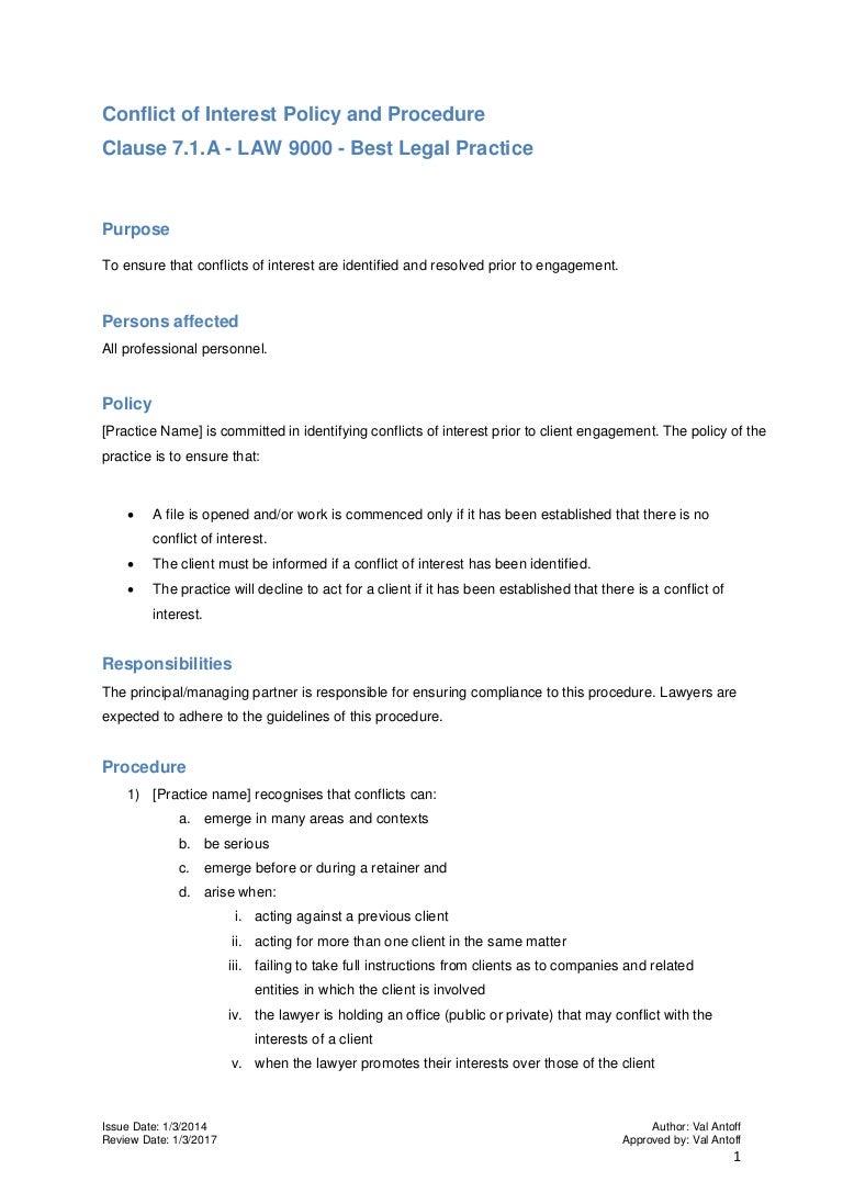 conflictofinterestprocedure 140327083418 phpapp02 thumbnail 4jpgcb1398154524