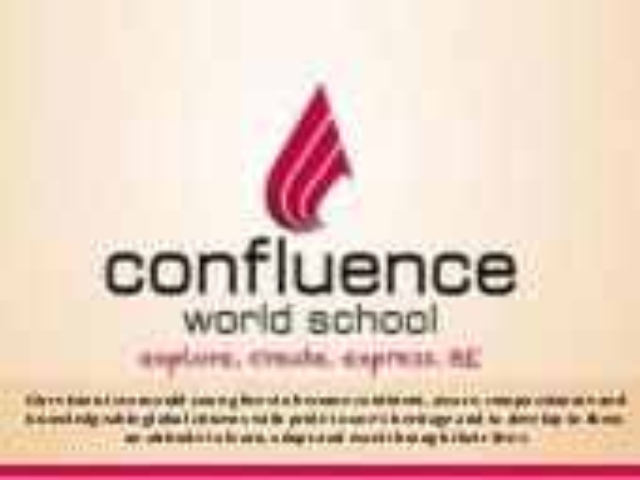 Confluence world school