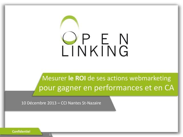 Mesurer le ROI de ses actions webmarketing pour gagner en performances et en CA