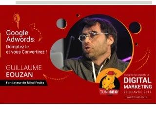 Conférence Google Adwords 2017