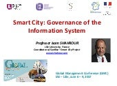 Smart City: Governance of the Information System