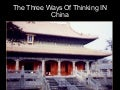 Confucianism, buddhism, daoism