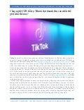 Công nghệ CDN hỗ trợ Tiktok tăng doanh thu kỷ luc
