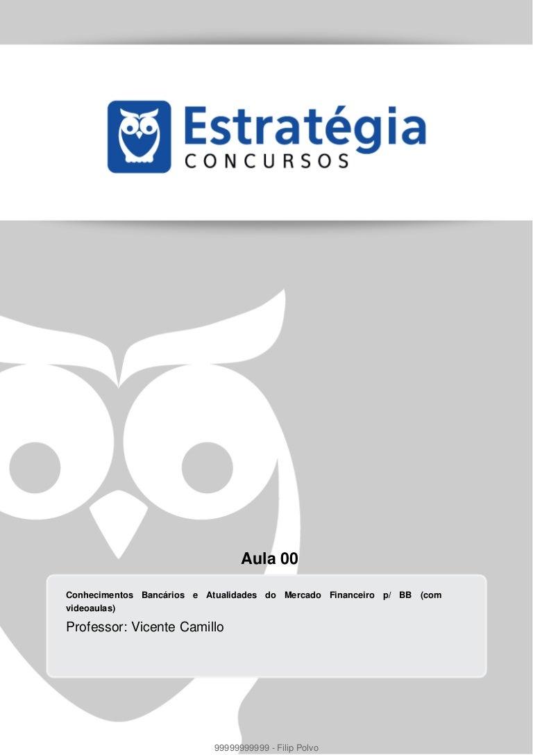 APOSTILA GRATIS BRASIL BANCO ESCRITURARIO BAIXAR DO 2011