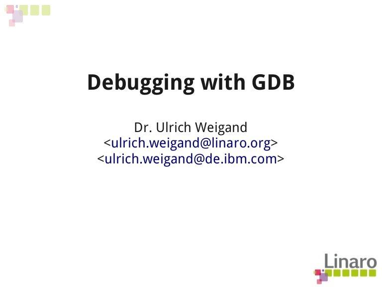 Q212 Debugging With Gdb