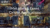 Connected datalondon metadata-driven apps