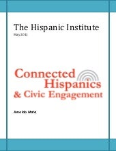 Connected Hispanics and Civic Engagement
