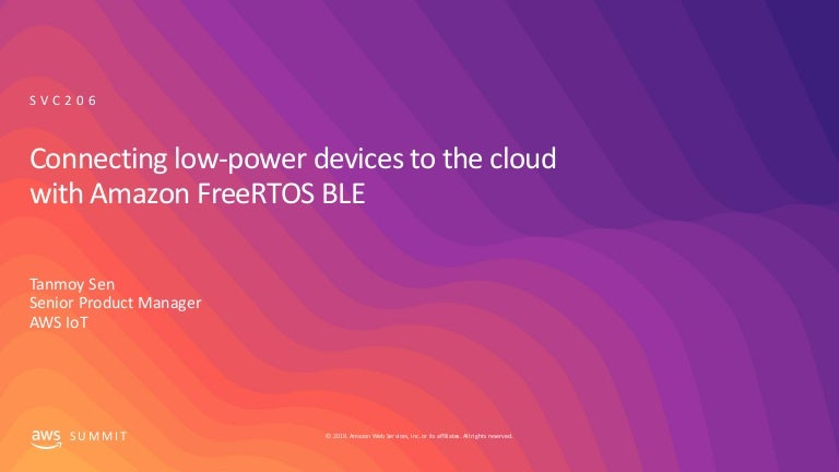 Connecting low-power devices to the cloud with Amazon