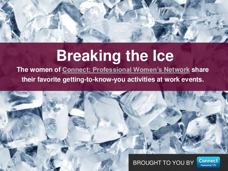 ice breakers that aren t awkward