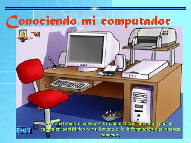 Conocer tu computador