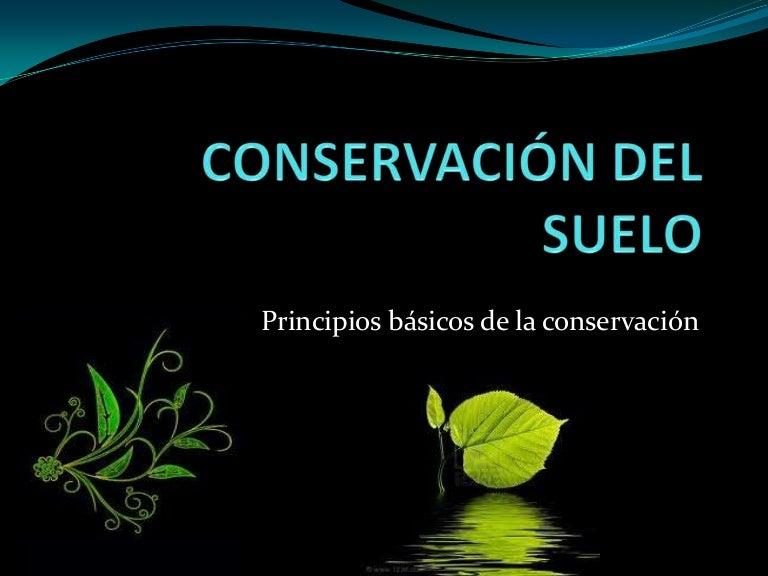 Conservación Del Suelo