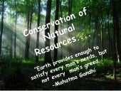 What are some ways to conserve natural resources?