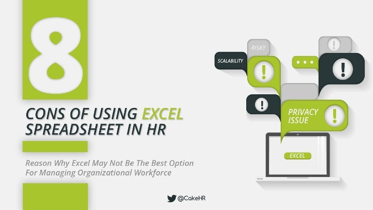 Cons Of Excel Spreadsheets In Human Resource Management