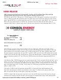 CONSOL Energy 1Q14 Operations and Financial Update