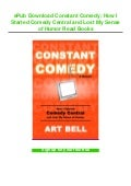 ePub Download Constant Comedy: How I Started Comedy Central and Lost My Sense of Humor Read Books
