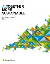Constellium Sustainability Report 2012