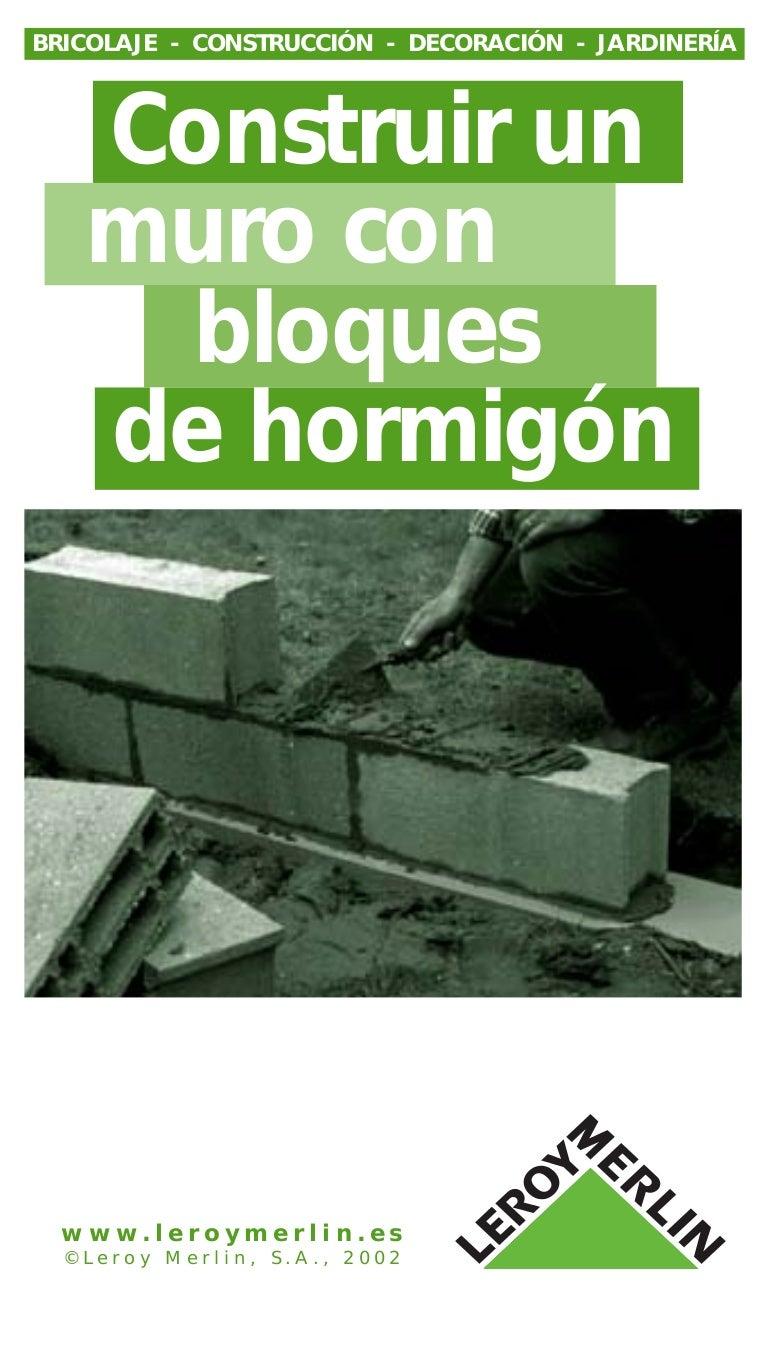 Construccion de paredes con bloques de cemento - Cemento decorativo para paredes ...