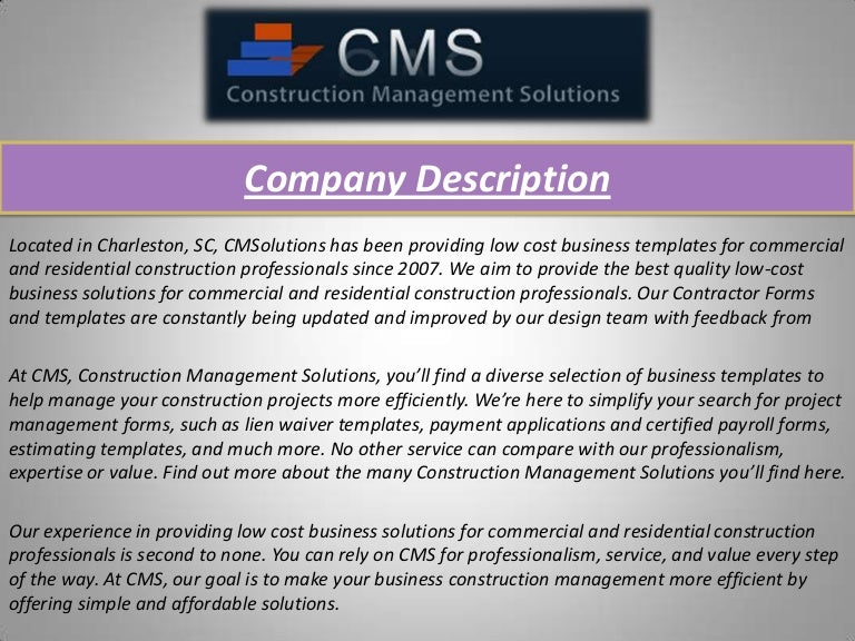 Construction Business Forms, G707A And Aia Forms | Contractorform.Net