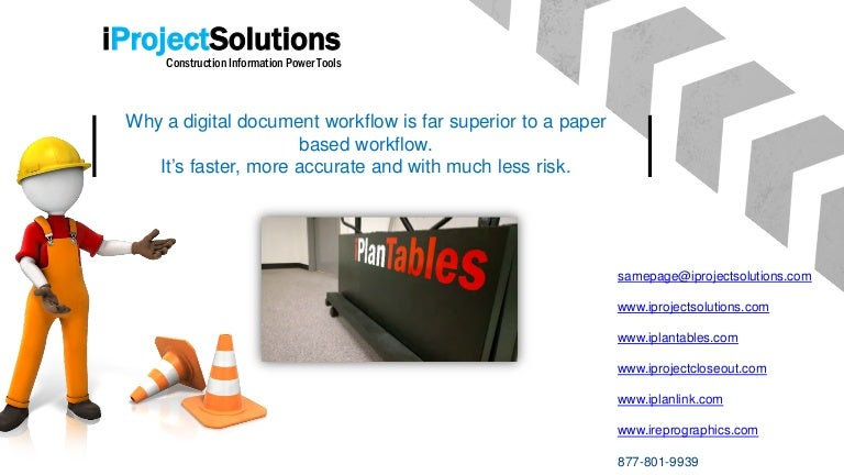 iProjectSolutions - start your project digital document workflow