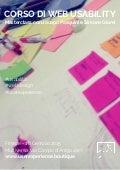 Corso di usabilità, user experience e web design