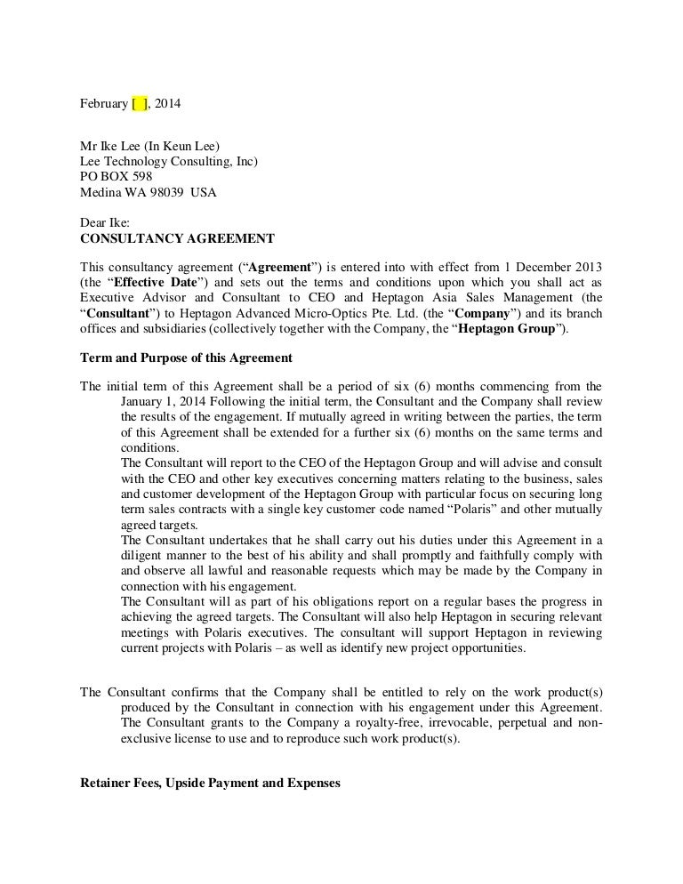 Consultancy agreement ike lee dr05022014 copy